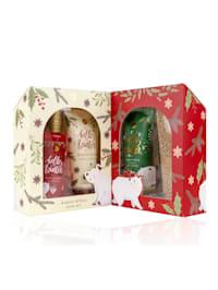 Kosmetický set Hello Winter v pěkném dárkovém boxu