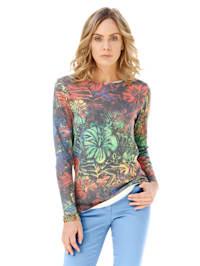 Pullover mit floralem Muster allover