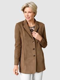 Kabát kvalita z veluru měkká jako rukavičky