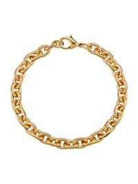 Bracelet maille jaseron doré