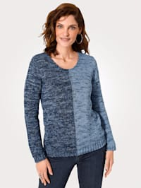 Jumper in a soft, smooth knit