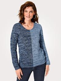 Pullover in softer Glattstrick-Qualität