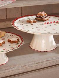 Kuchenplatte auf Fuß 'Toys Delight', 28 x 10,9 cm