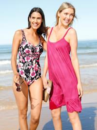 Strandkleid mit Volant