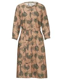 Kleid im floralen neu designten Druck allover