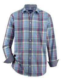 Košeľa v letnej kvalite