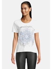 Halbarm-Shirt mit Aufdruck