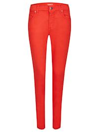 Jeans 'Skinny' in unifarbenem Design
