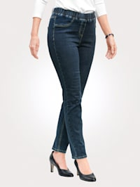 Jeans med fuskfickor