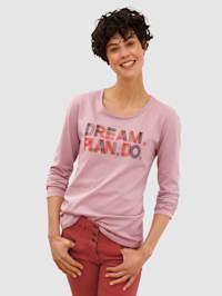 Shirt met leuk borduursel