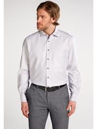 Langarm Hemd COMFORT FIT Twill strukturiert