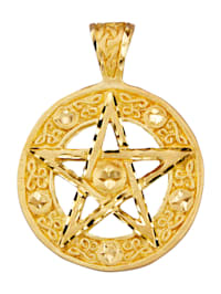 Anheng i sølv 925, gullfarget