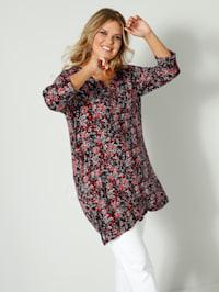 Tunika-Shirt aus weich fließendem Material