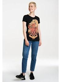 T-Shirt Gryffindor mit hochwertigem Siebdruck