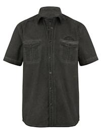 Skjorte i trendy used look