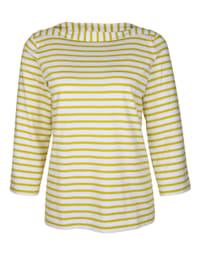 Shirt mit Streifen .
