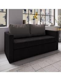 2er Couch mit Schlaffunktion Ensal