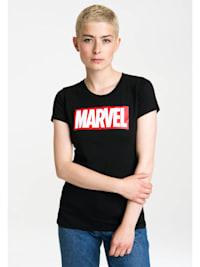 T-Shirt Marvel Comics mit großem Frontprint