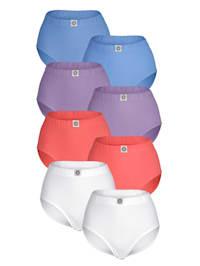 Taillenslips im 8er-Pack in verschiedenen Farben