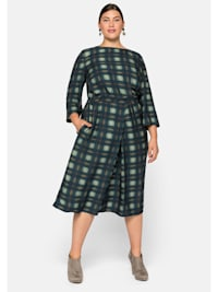Kleid mit Kellerfalte