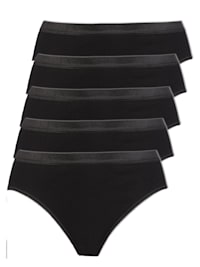 5er Pack Damen Slips