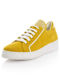 Sneakers i läcker färg
