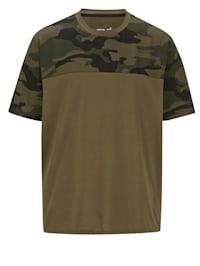 T-skjorte med kamuflasjemønster