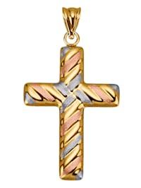 Hänge – kors i guld 9 k