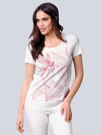 Shirt met exclusieve print