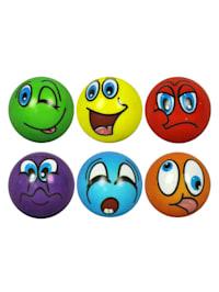 Set van 6 stressballen