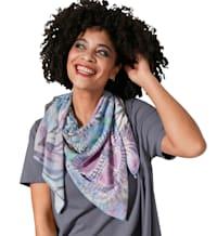 Sjaal met trendy print