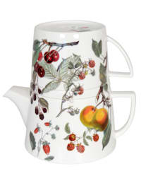 Čajník s věkem a šálkem 'Tea for me - Ovoce'