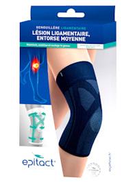 Kniebandage om de knie te stabiliseren