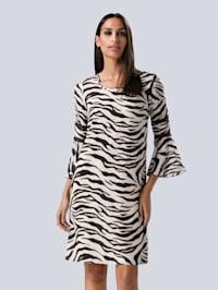 Kleid im modischen Animal-Dessin allover