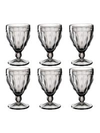 Rotweinglas 6er Set Brindisi
