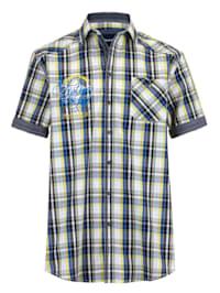 Skjorte med mansjett med oppbrett