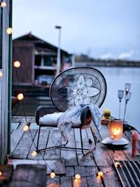 IMPRESSIONEN living Outdoor-Sessel, schwarz