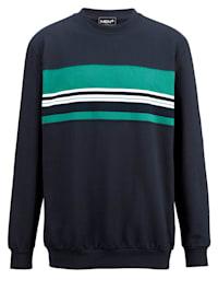Sweatshirt av 100% bomull