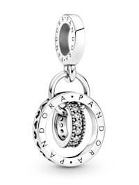 Charm-Anhänger -Pandora Logo- Kreise - 79949OCO1