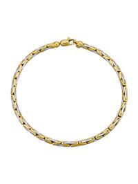 Bracelet maille royale partiellement massif