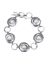 Armband mit Süßwasser-Zuchtperlen