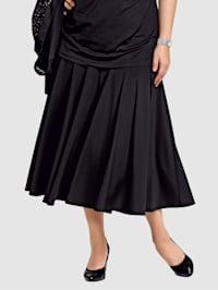 Vådsydd kjol med härlig vidd