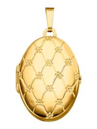 Medaillon-Anhänger in Gelbgold 585
