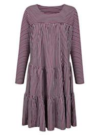 Nočná košeľa s jemne rozšírenou sukňou