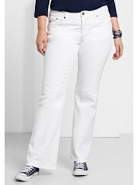 Jeans Individuelle Used-Effekte