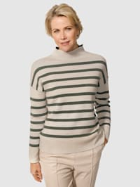 Pullover aus trageangenehmer Baumwoll-Qualität