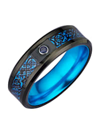 Partnerský prsteň z wolfrámu