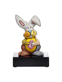 """Figur Romero Britto - """"Grey Rabbit"""""""