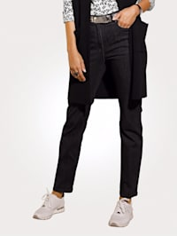 Jeans in Querstretch-Qualität