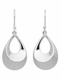 1001 Diamonds Damen Silberschmuck 925 Silber Ohrringe / Ohrhänger